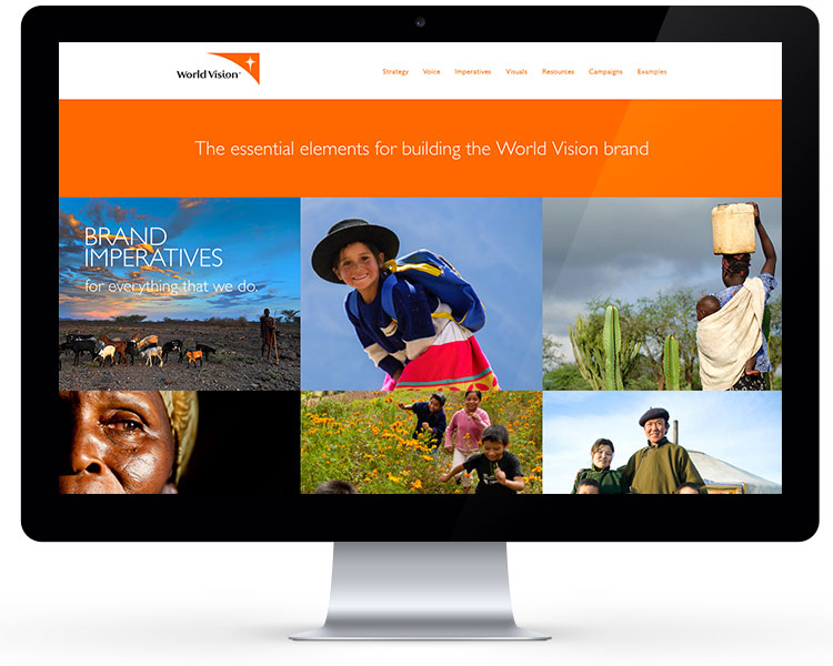 World Vision Brand Site 1