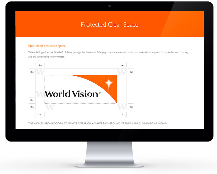World Vision Brand Site 2