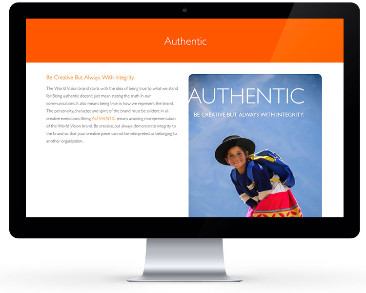 World Vision Brand Site 3