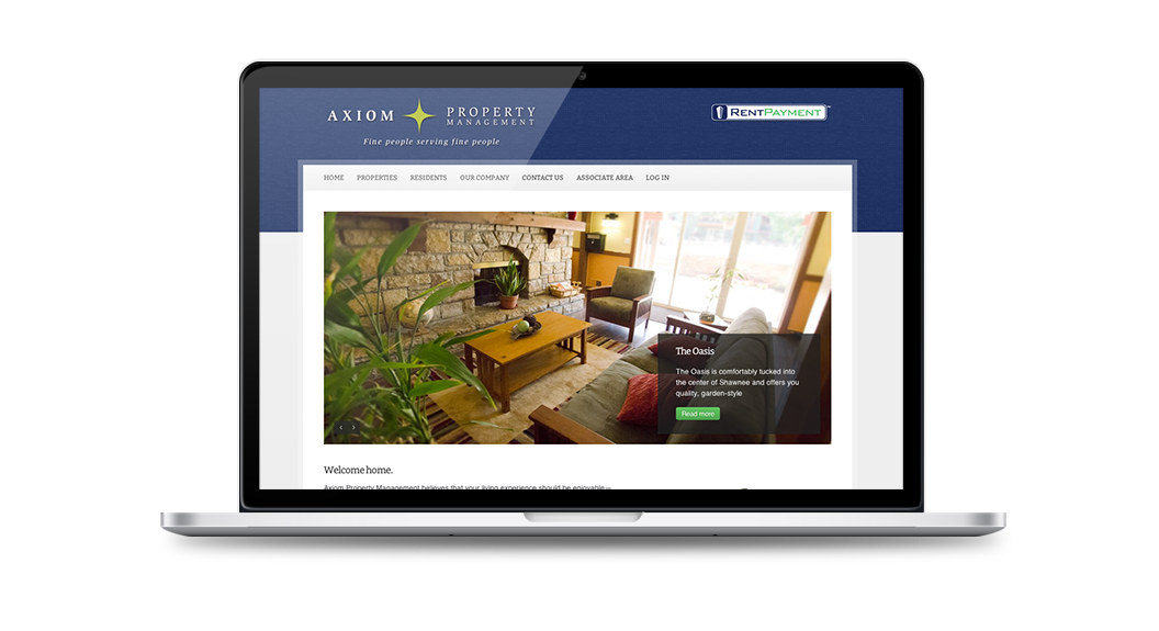 Axiom Property Management Website