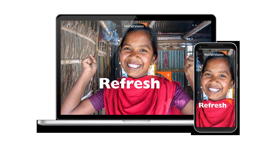 World Vision US Brand Website